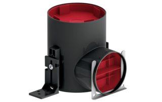 panduva ventilatsioonitoru lühike rõhualanduskast